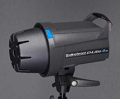 Elinchrom D-lite 4 IT Studio Lighting Flash Head 400 Ws