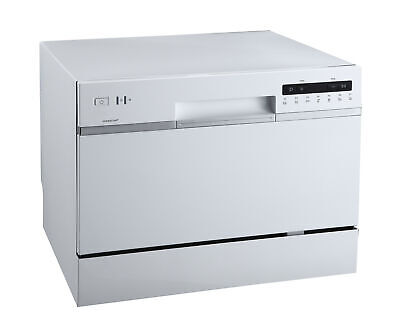 """EdgeStar DWP62 22""""W 6 Place Setting Energy Star Rated Countertop - White"""
