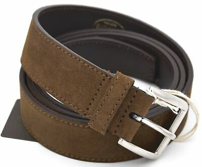 CHURCH'S MAN BELT 100% SUEDE CASUAL FREE TIME CODE CT0011
