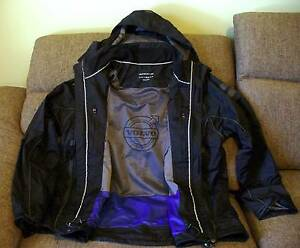 Men's Volvo Black Racing Yacht Truck Jacket Reflective - Like New Gawler Gawler Area Preview