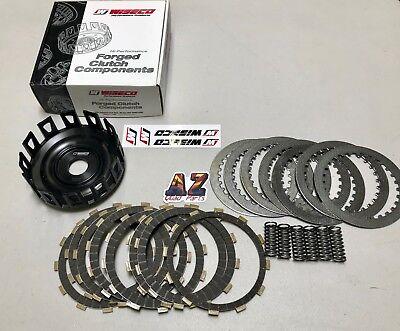 Honda TRX450R TRX 450R TRX450ER Wiseco Heavy Duty Billet Clutch Basket Fibers (Trx450r Clutch)