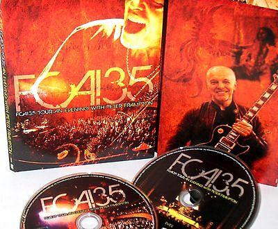 Peter Frampton:FCA! 35 Tour-2 DVD NEW Live Concert  Evening with Peter Frampton