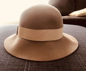 Ladies tan felt hat Highfields Toowoomba Surrounds Preview