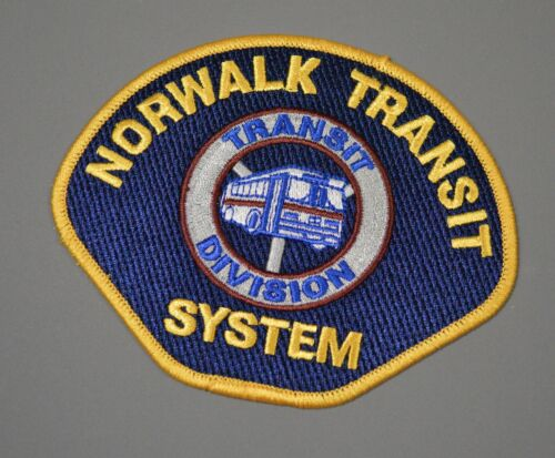 Norwalk California Transit System Patch ++ Los Angeles County CA