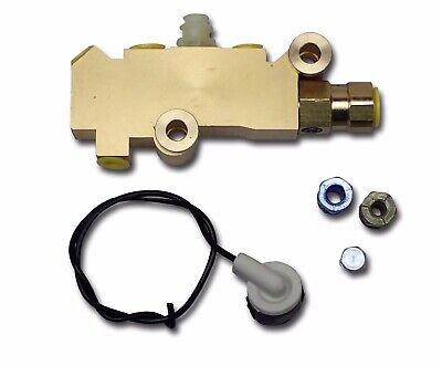 78-88 Disc Drum Brake Prop Proportioning Combo Brass Cast Iron Valve -