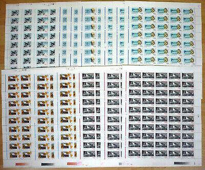 150 x Rumänien Romania 1998 Mi. 5366-70 ** MNH 20. Jahrhundert Titanic etc.  /xy