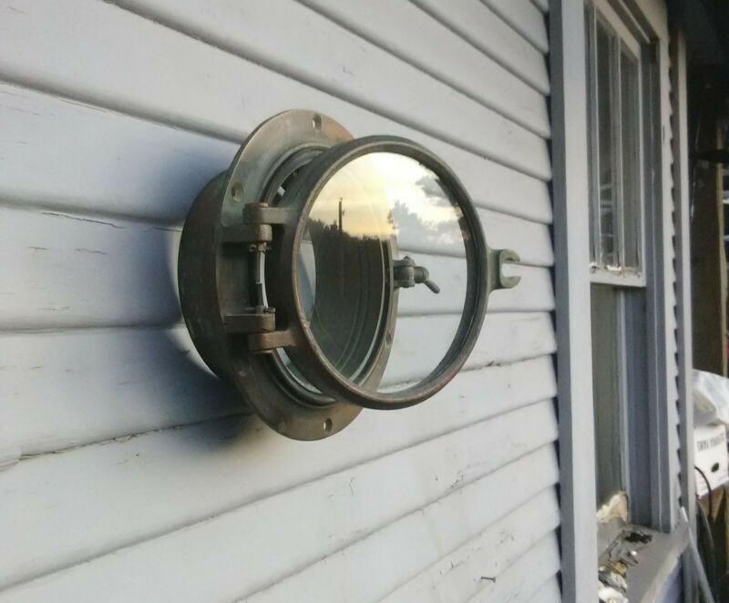 "Bronze Portlight 6"" Vintage Wilcox and Crittenden"