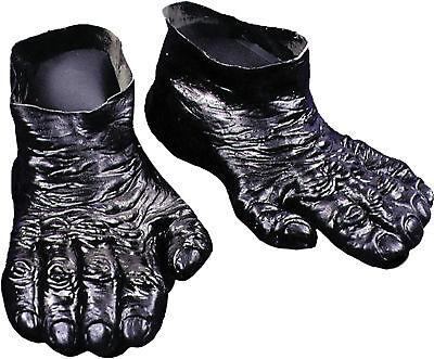 Adult Gorilla Ape Chimp Black Feet Halloween Distortions