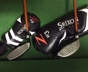 Current model Srixon ZF65 3 wood and 19 degree ZH65 Hybrid Rossmoyne Canning Area Preview