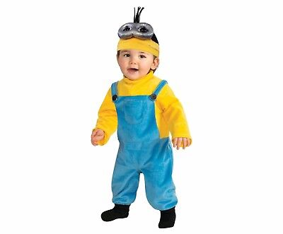 Rubie's Minions Infant/Toddler Minion Kevin Child Halloween Costume 3T-4T ](Minion Costume 4t)