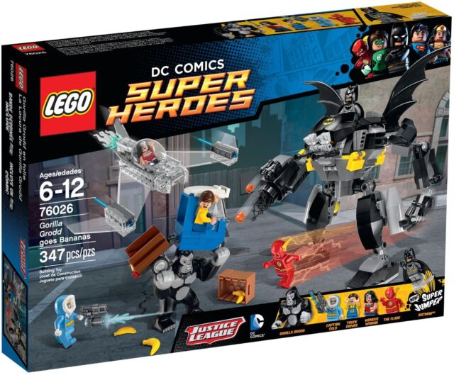 *AUS STOCK* LEGO - Gorilla Grodd goes Bananas - DC Super Heroes 76026 Flash Cold