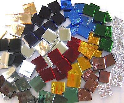 Assorted Mirror Tile - 110 Mosaic Tiles 1/2