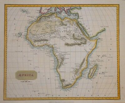AFRICA PUBLISHED BY THOMAS KELLY C. 1840.