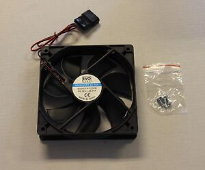 New 120mm 2400RPM Black System Computer PC Coolant Cooling Case Fan