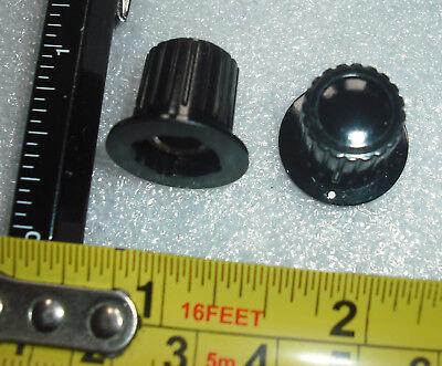Small black amp knob orange style bass treble tone amplifier control knob matamp