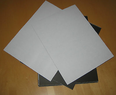 LOT OF Four  Rubber Magnet Sheets, 8x11 inches, 20 mil THICK, SELF ADHESIVE