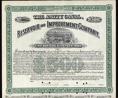 1891 Charles Dow   Signature Dow Jones Industrial Average Wall Street Signed