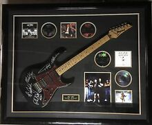 Acdc signed guitar limited edition 1 of 1 authenticity cert inc West Gosford Gosford Area Preview