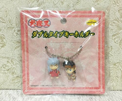 NEW Rare Inuyasha & Koga Mini Figure Mascot Keychain Set Official Japan