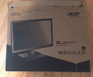 Brand new 18.5 inches LED Acer computer monitor