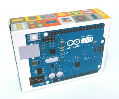 Arduino Uno Smd Edition A000073 Board Rev3 New In Sealed Box Fast Shipping