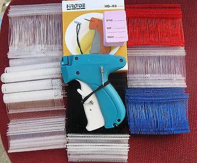 Garment Price Tagging Gun 2000 Mix Barbs 1 Needle 100 Price Tag 1 Ext.needle