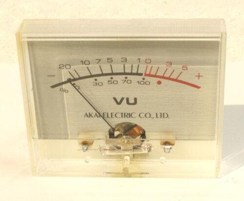 AKAI CS-707D Working VU Meter-Vintage Cassette Deck-1 of 2
