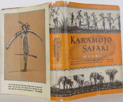 W.d.m Bell Karamojo Safari First Edition