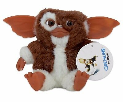 "Gizmo 6"" Plush Neca Gremlins Mogwai Mini Toy Small Licensed 80's Collectable UK"