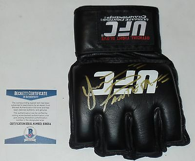 d0c603d3dbd YAIR RODRIGUEZ SIGNED AUTO D UFC OFFICIAL GLOVE MMA BAS COA FIGHT NIGHT