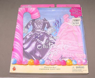 Barbie Doll Clothes New In Box 2001 #68801 Nutcracker Gown, Nightgown, Shoes