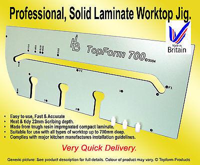*BRAND NEW* 700mm SOLID LAMINATE KITCHEN WORKTOP MITRE JIG