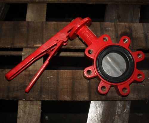 """BRAY CONTROLS Lugged Butterfly Valve 3"""" inch DN80 80mm with manual lever"""