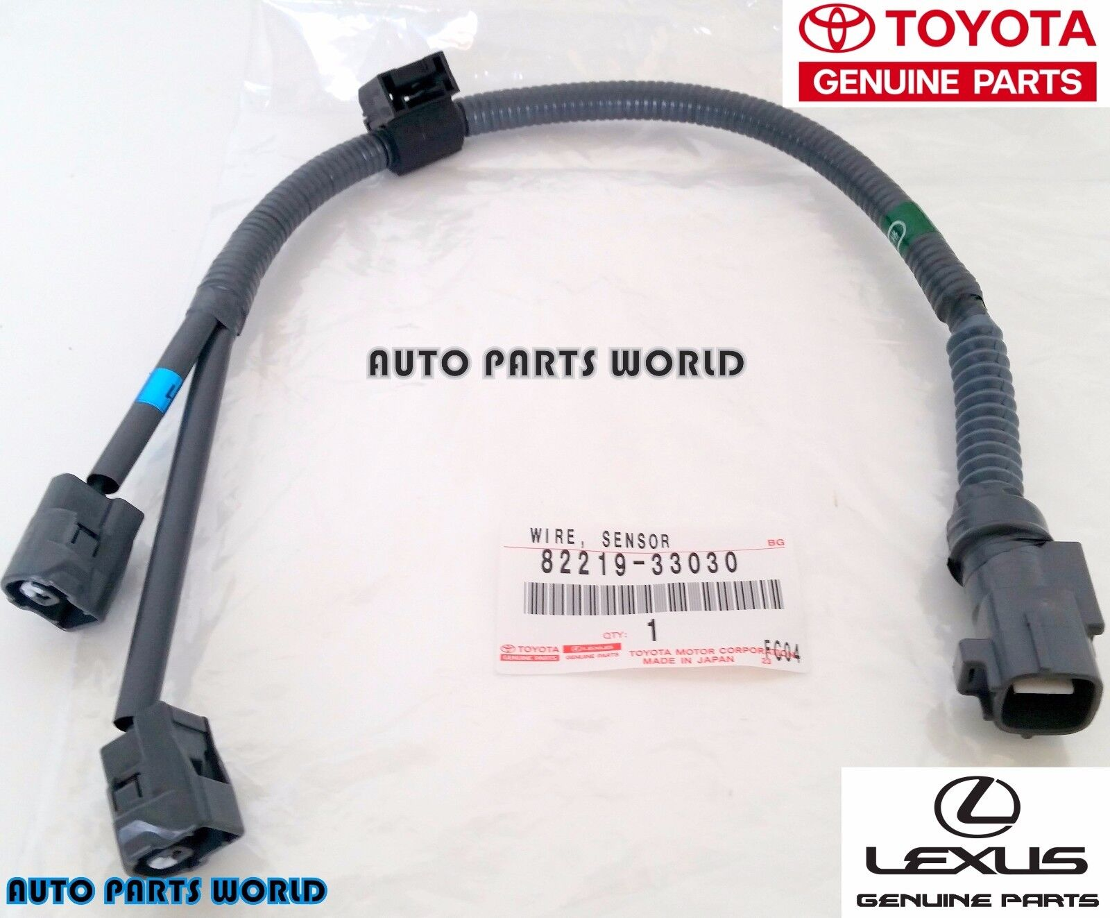 New genuine toyota lexus oem knock sensor wire harness