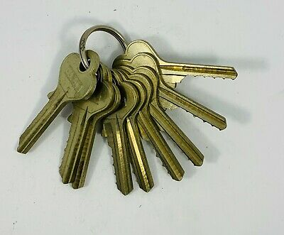 Set Of Space And Depth Keys Marked 1-9 Harlock