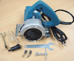 Electirc Marble Tile Granite Wood Cutter Saw Portable Wet Dry Blades 4 3 8