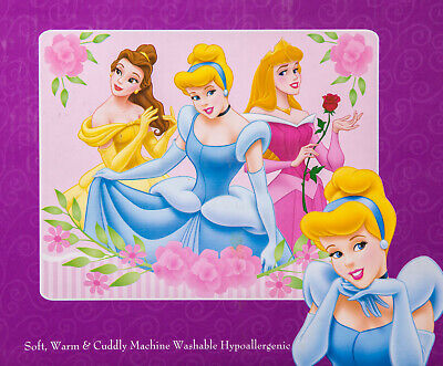 Disney Princess Raschel Plush Throw Blanket 40