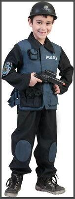 POLIZIST COP Special Force KOSTÜM Geheimagent Polizeikostüm Agent FBI