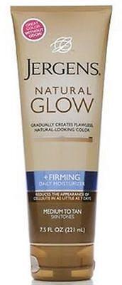 Jergens Natural Glow Firming Daily Moisturizer, Medium to Ta