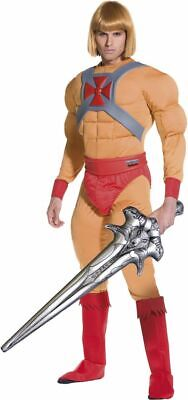 He-man Adult Costume (NEW He-Man/Prince Adam Muscle Costume - Men's Adult Smiffy's Fancy Dress)