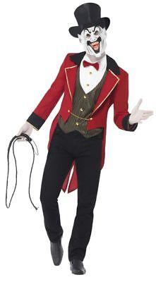 SMIFFY 44007 Horror Zirkusdirektor Ringmaster Dompteur Halloween Herren Kostüm (Ring Master Halloween Kostüme)