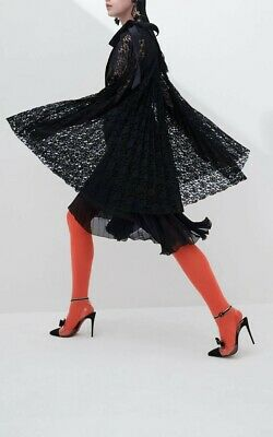 Huishan Zhang Trinity Lace And Silk Chiffon Cape Dress