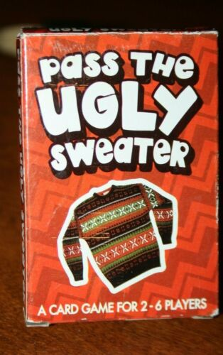 Pass The Ugly Sweater Card Game - A 2-6 Player Game - Don