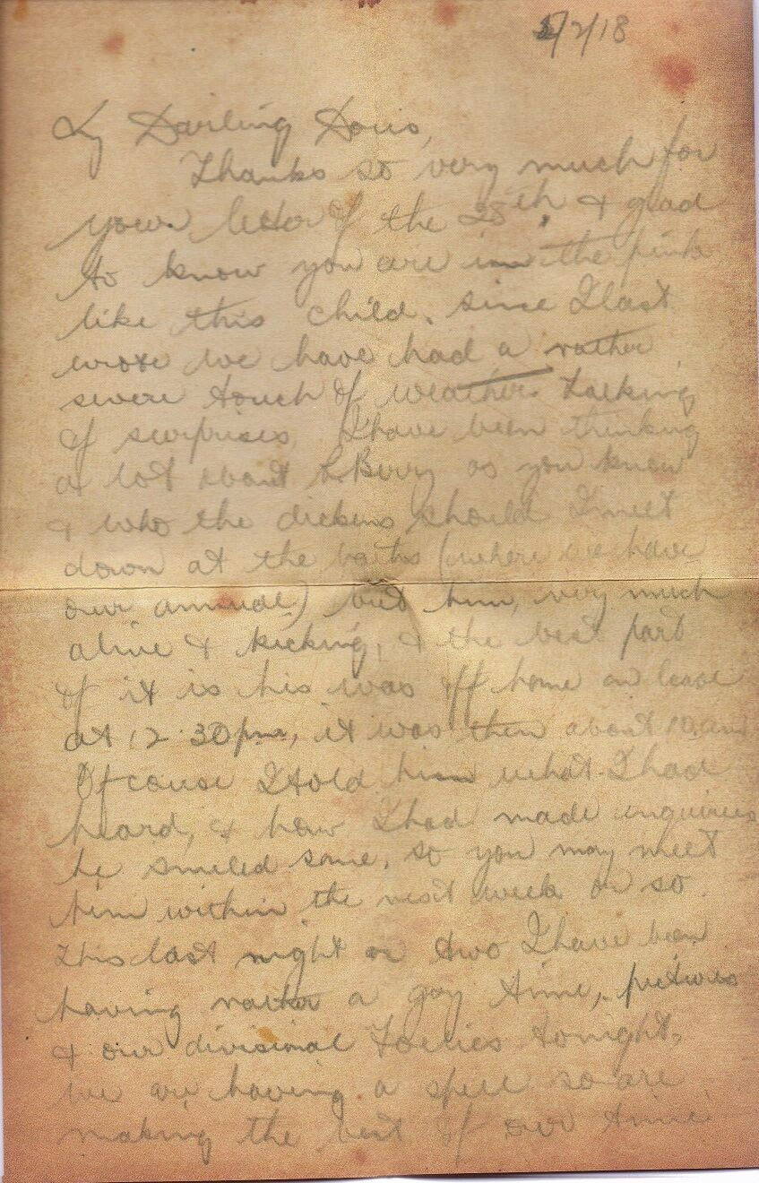 letter a wwi soldier s account Letters to and from the front lines were a lifeline for service men and women fighting in world war ii soldiers who had been wounded wrote home as soon as they were able read excerpts from babe ciarlo's letters.