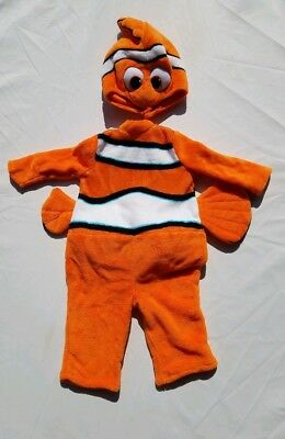 Disney Finding Nemo Boys Girls Size 6-12 Months Costume Baby Prestige Infant ](Nemo Infant Costume)