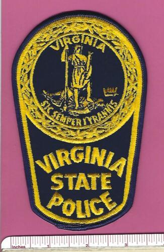 Virginia VA State Police Highway Patrol Trooper Law Enf. Shoulder Patch - V2