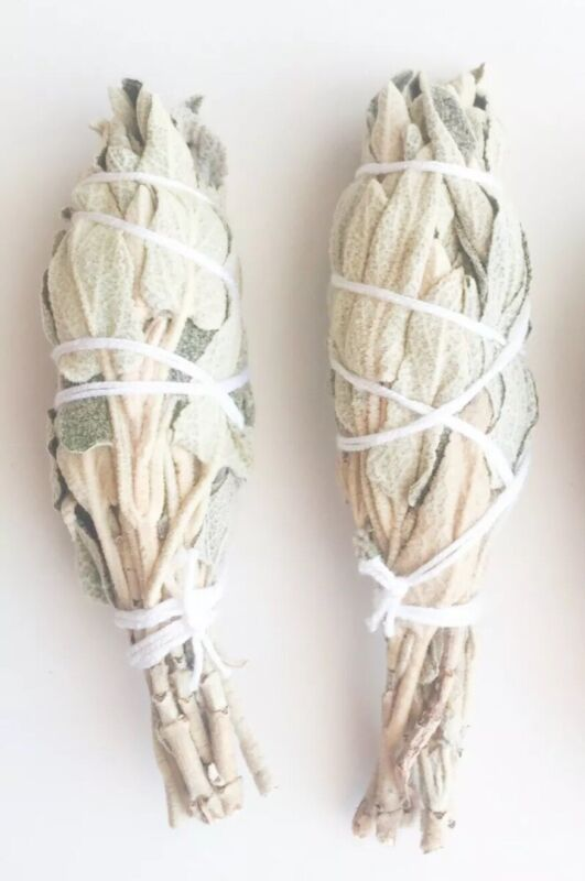 2 items🌿Wild & Organic Jerusalems WHITE SAGE Smudge  stick  💫🌿