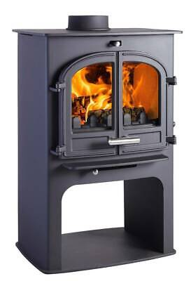Hunter Cleanburn Norreskoven Single Log Burner Wood burning Multi fuel Stove