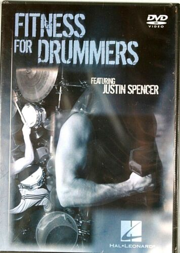 Fitness for Drummers Instructional/Drum/DVD Series DVD Written by Justin Spencer