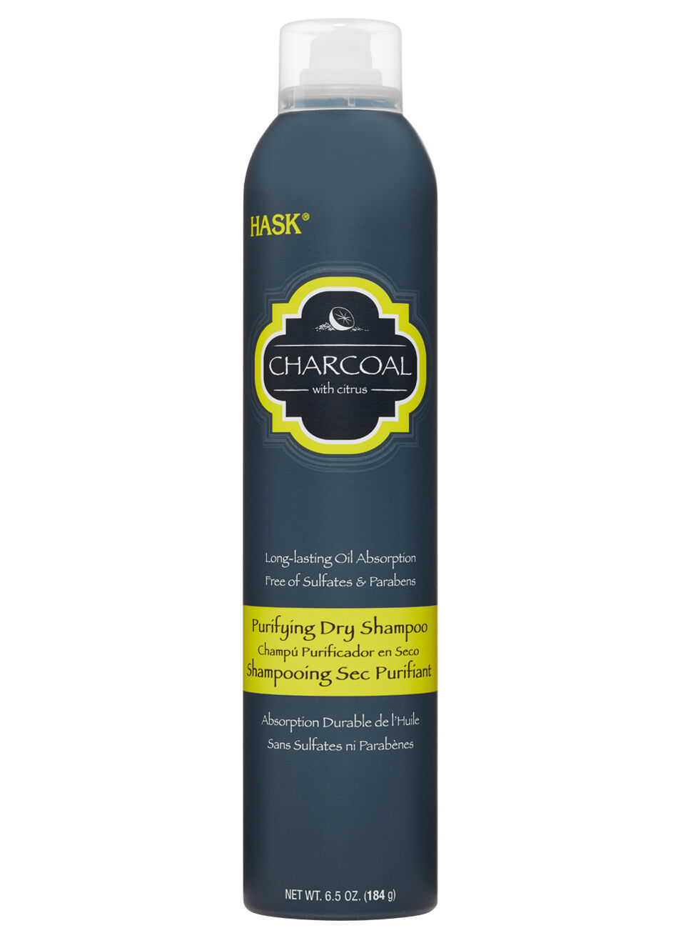 HASK Charcoal Purifying Dry Shampoo Long Lasting Hair Oil Ap
